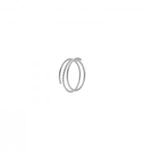 Дамски златен пръстен с диаманти Facet R0140B21