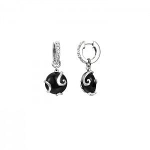 Дамски сребърни обеци Pierre Cardin PCCO90218A