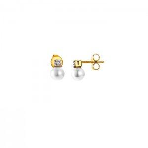 Дамски сребърни обеци Pierre Cardin PCER90239B