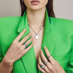 Дамски сребърен пръстен Ti Sento 12221SI