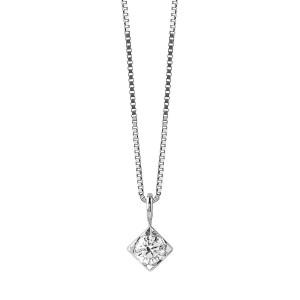 Златно дамско колие с диамант Bliss 20077225