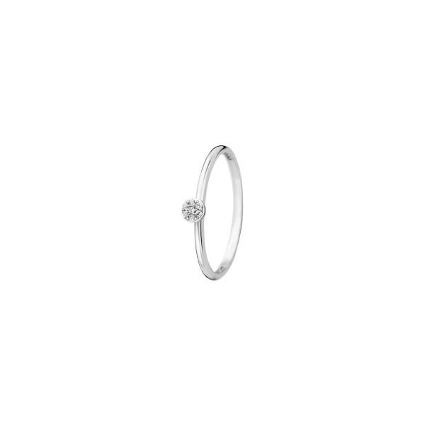 Дамски пръстен бяло злато Blush 1199WZI