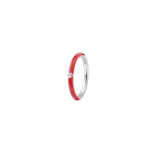 Сребърен дамски пръстен Ti Sento 12225CR