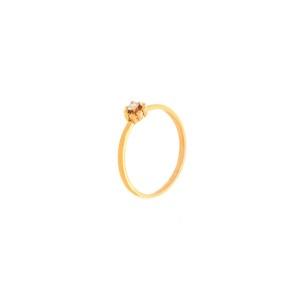Дамски пръстен розово злато с диамант Bliss 20085992