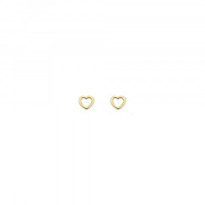 Дамски златни обеци Blush 7246YGO