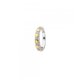 Дамски сребърен пръстен Ti Sento 12216ZY