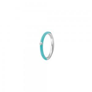 Дамски сребърен пръстен Ti Sento 12225TQ