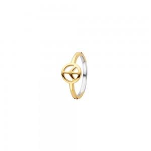 Дамски сребърен пръстен Ti Sento 12222SY