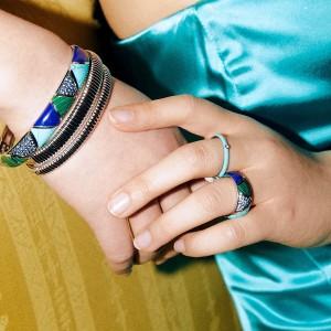 Сребърен дамски пръстен Ti Sento 12226TQ