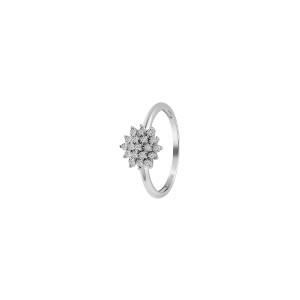Дамски златен пръстен с диаманти Bliss 20082591
