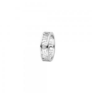 Дамски сребърен пръстен Ti Sento 12227ZI