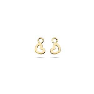 Златни висулки за обеци Blush 9057YGO