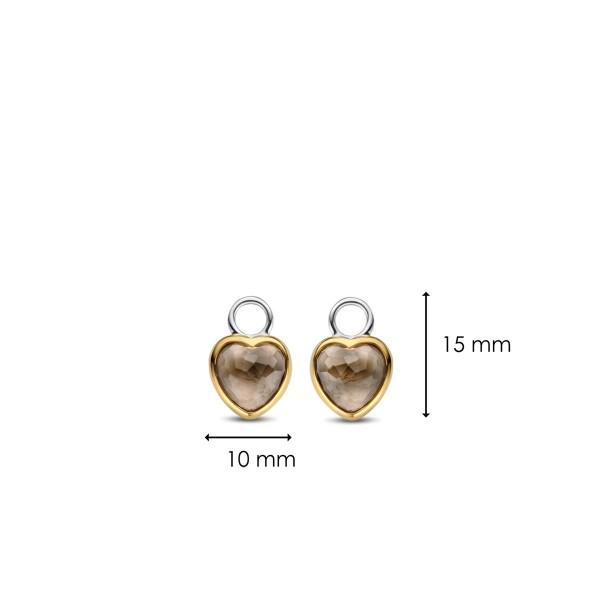 Сребърни висулки за обеци Ti Sento 9231TT