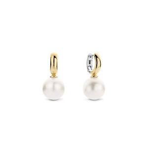Дамски обеци перли и сребро Ti Sento 7871PW
