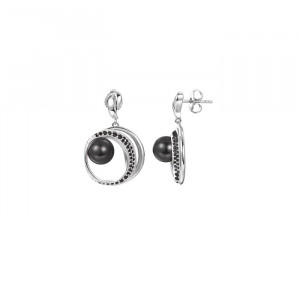Дамски сребърни обеци Pierre Cardin PCER90250B
