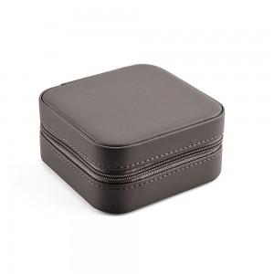 Елегантна кутия за бижута в тъмносиво