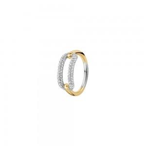 Дамски сребърен пръстен Ti Sento 12228ZY