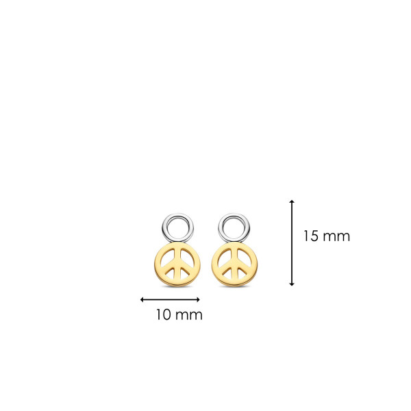 Сребърни висулки за обеци Ti Sento 9233SY