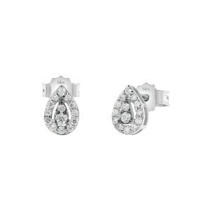 Дамски златни обеци с диаманти Bliss 20085148