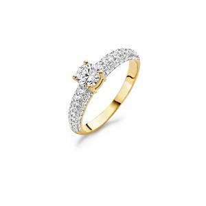 Дамски златен пръстен Blush 1135YZI