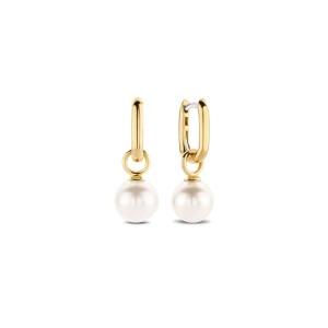 Дамски сребръни обеци с перли Ti Sento 7848PW