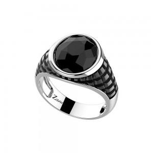 Сребърен мъжки пръстен Zancan EXA214
