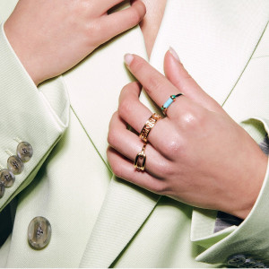 Сребърен дамски пръстен Ti Sento 12224TQ
