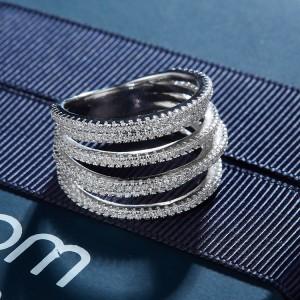 Дамски сребърен пръстен APM Monaco A17528OX