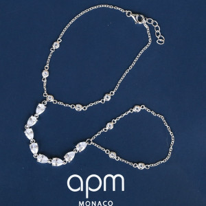 Дамска сребърна гривна APM Monaco AB3233OX
