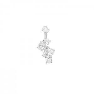 Дамска сребърна обеца APM Monaco AE9453OX