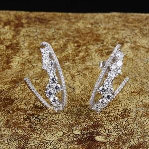 Дамски сребърни обеци APM Monaco AE9472OX