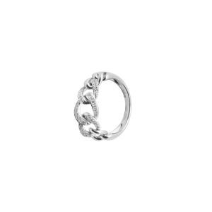 Дамски златен пръстен с диаманти Bliss 20029818