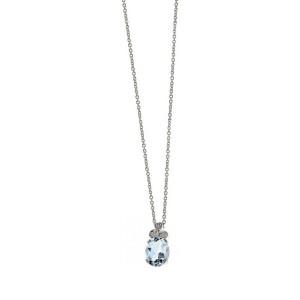 Дамско златно колие с диаманти Bliss 20030711