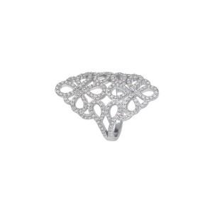 Дамски сребърен пръстен Bliss 20063137