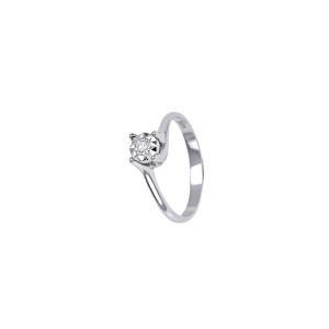 Дамски златен пръстен с диамант Bliss 20063331