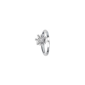 Дамски златен пръстен с диаманти Bliss 20067020
