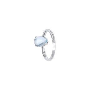 Дамски златен пръстен с диаманти Bliss 20069641