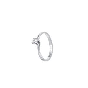 Дамски златен пръстен с диамант Bliss 20069816