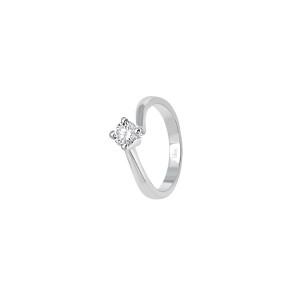 Дамски златен пръстен с диамант Bliss 20069823