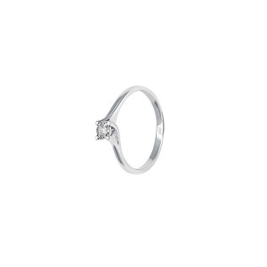 Дамски златен пръстен с диамант Bliss 20069892