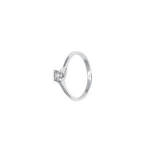 Дамски златен пръстен с диамант Bliss 20069893