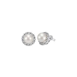 Дамски златни обеци с диаманти Bliss 20070776