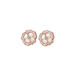 Дамски сребърни обеци Bliss 20071637