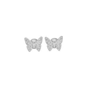 Дамски сребърни обеци Bliss 20073533