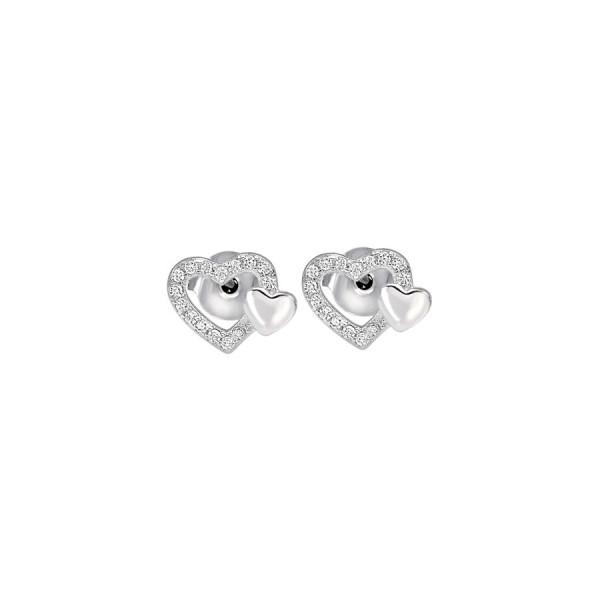 Дамски сребърни обеци Bliss 20073534