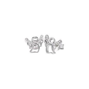 Дамски сребърни обеци Bliss 20073536