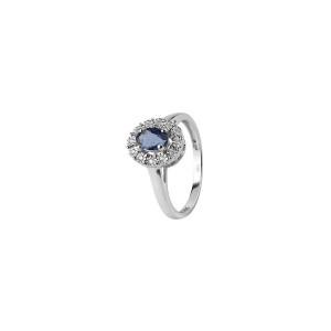 Дамски златен пръстен с диаманти Bliss 20074150