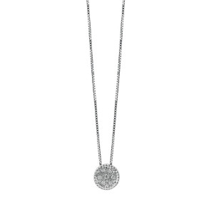 Дамско златно колие с диаманти Bliss 20076770