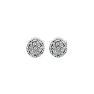 Дамски златни обеци с диаманти Bliss 20076771