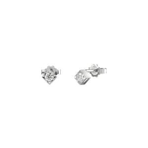 Дамски златни обеци с диаманти Bliss 20077227